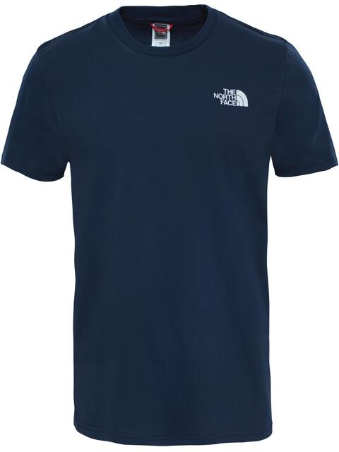 The North Face Simple Dome Maglietta a maniche corte Uomo blu